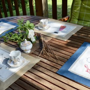 cotton placemats set