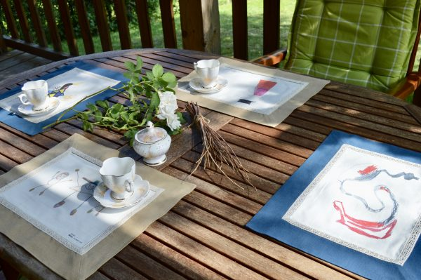 cotton placemats set